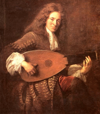 French baroque lute